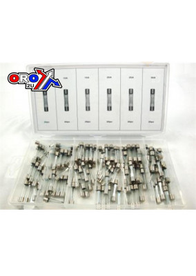 120Pc GLASS FUSE IN ASSORT BOX KDPHW187